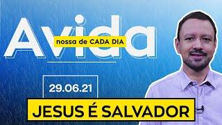 JESUS É SALVADOR / A Vida Nossa de Cada Dia - 29/06/21