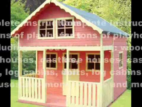 diy kids playhouse playhouse plans designs and ideas - Playhouse Designs And Ideas