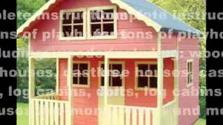 Diy Kids Playhouse | Playhouse Plans, Designs And Ideas