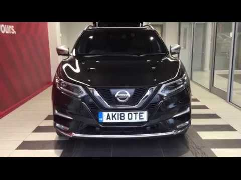 2018 nissan qashqai tekna plus dig t youtube. Black Bedroom Furniture Sets. Home Design Ideas