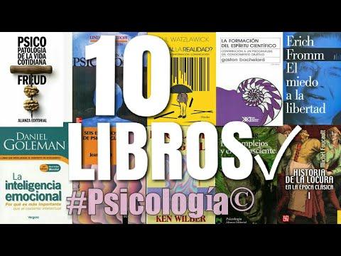 10 libros de psicología recomendados para estudiantes y psicólogos