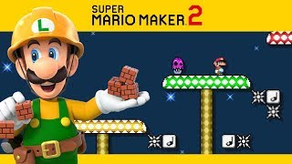 SUPER MARIO MAKER 2 | Campanha #4 - Fugindo do Cogumelo Envenenado!