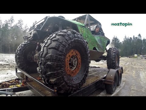 Cory Hinds testing Interco Super Swamper SX sticky 43""