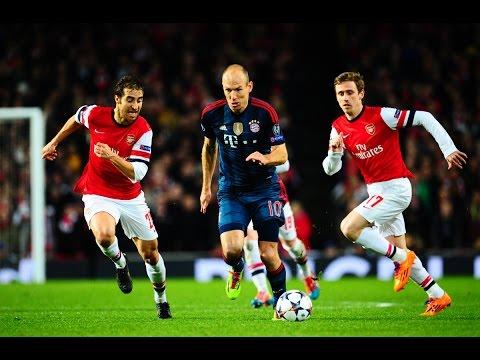 Bayern Munich Vs Arsenal 2-0 2013/14~Arsenal Vs Bayern Munich 0-2 2013/14-All Goals  [HD]
