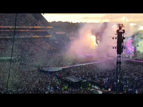 1 Coldplay Dublin 8th July