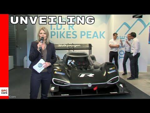 Volkswagen ID R Pikes Peak Unveiling