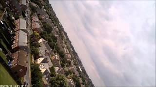 RC Depron Bede BD-5 Maiden Flight