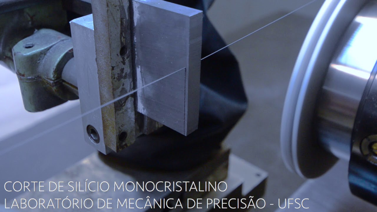 Endless diamond wire saw machine - YouTube