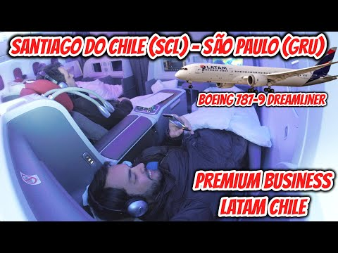 Flight Report #15: Santiago de Chile (SCL) - São Paulo (GRU), na PREMIUM BUSINESS da Latam Chile