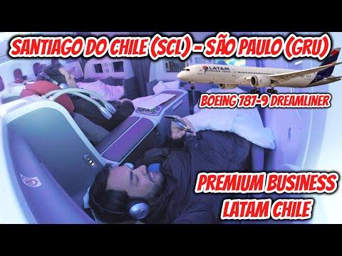 Flight Report #15: Santiago de Chile (SCL) - São Paulo (GRU), na PREMIUM BUSINESS da Latam Chile