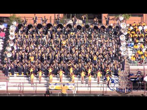 NCA&T BLUE & GOLD MARCHING MACHINE @ THE 2013 ADRIAN CARROLL BOTB