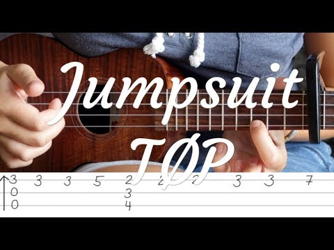 Ukulele Lesson - Jumpsuit - twenty one pilots (with fingerstyle part)