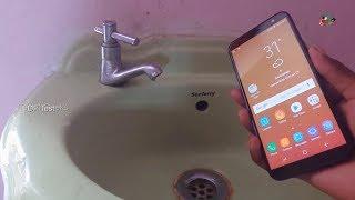 Samsung Galaxy J6 Water Test! Waterproof?