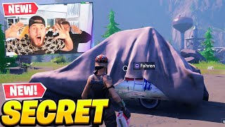 das *NEUE* AUTO in Fortnite (geheimes update)