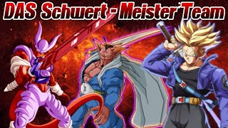 MEIN Schwert-Meister Team! ;D Swordsman ftw!? | Dragon Ball Legends Deutsch