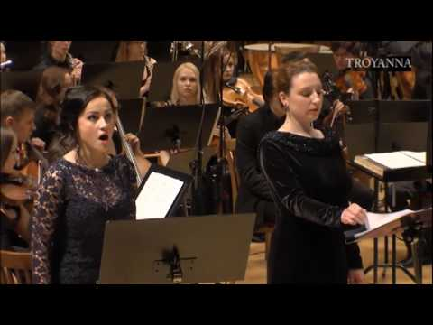 1.Tuba Mirum by Pyotr Tuchkov. 2. Frederic Chopin. Concerto for piano №2 ( 2 and 3 movement)