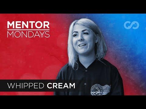 Whipped Cream on Perseverance, Ghostwriting & Speaking Through Art | Mentor Mondays