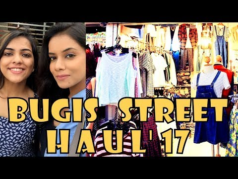Bugis Street Singapore | Haul Under $100 Shopping | Ritwika Gupta | Travel Vlog