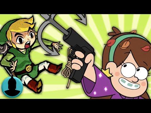 Nintendo References in Cartoons! Zelda, Mario + MORE! (Tooned Up S4 E8)