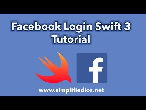 Facebook Login Swift 3 Tutorial - Adding Facebook Login to iOS App