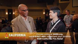 """04 - 3ABN California Fire Relief - """"Interview with Marc Woodson"""" (2018-11-17)"""