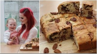 #ad | How To: Bake Gluten Free Banana Pecan Cake With Holly Samanthaa! Ad*