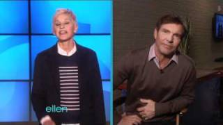 Ellen and Dennis Quaid Prank the Audience!