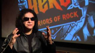 Guitar Hero Warriors of Rock - PS3 | Wii | Xbox 360 - Gene Simmons interview video game trailer HD