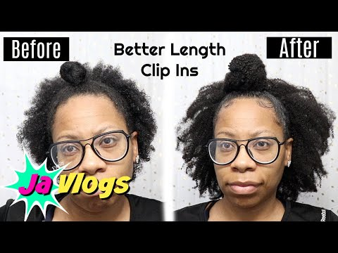 BIGGER FULLER half up half down | Better Length Clip Ins