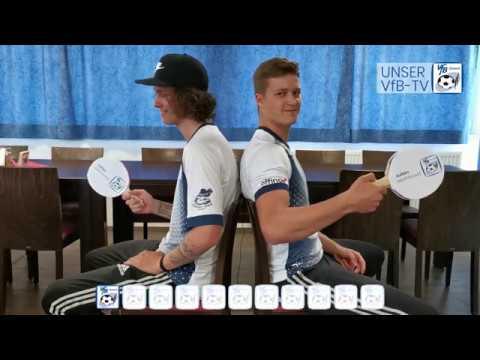 Sind die Brüder sich einig? Fragespiel mit Julian und Manuel Methfessel - UNSER VfB-TV - VfB Durach