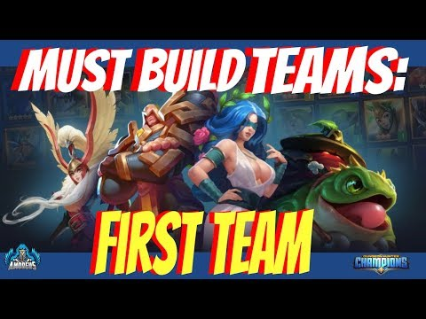 Dungeon Hunter Champions:  Must Build Teams | First Team RELOADED