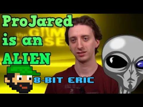 ProJared is an Alien!   8-Bit Eric