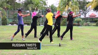 Senaman Circuit bersama Siti Kamariah Jahri