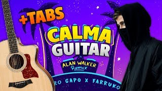 Alan Walker Remix – Calma (fingerstyle guitar cover with free tabs)