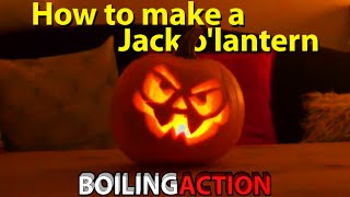 How to make a Halloween Jack o