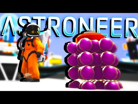 EXPLODING Ultra RARE ASTRONIUM! - Astroneer Gameplay