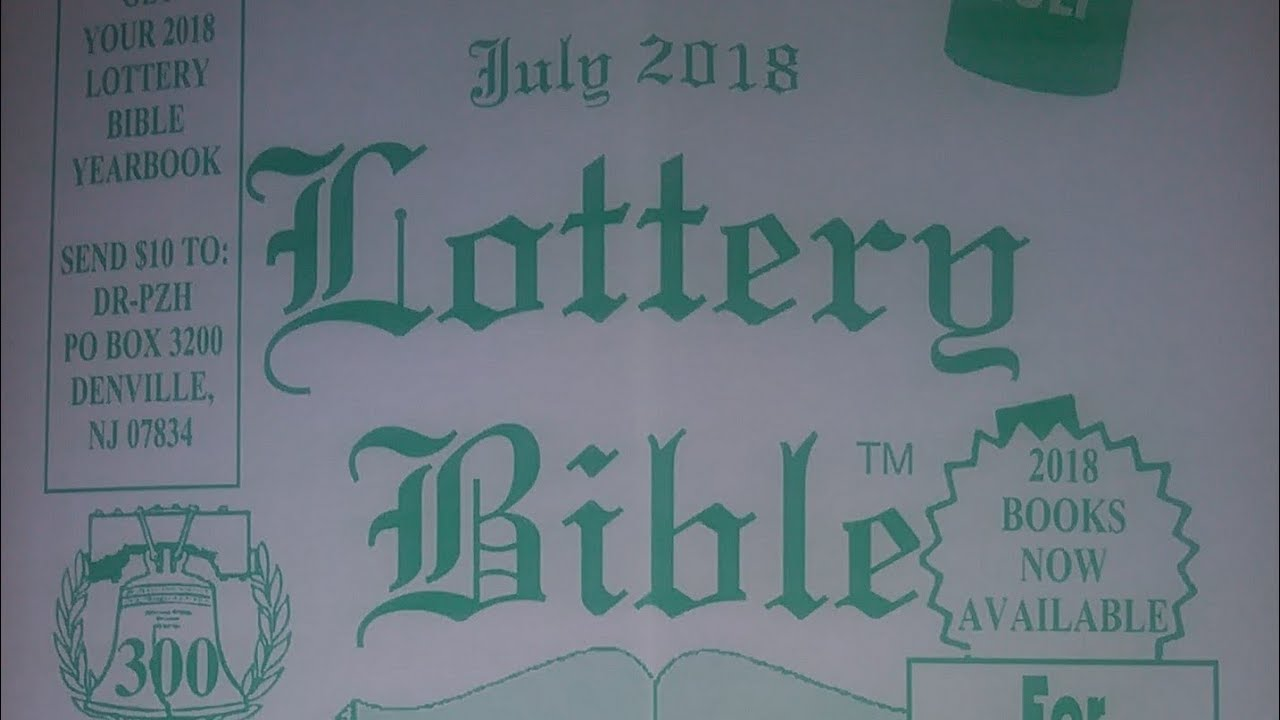 Lottery Bible Sneak peak for July 2018!! by Tater T V