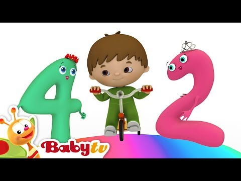 Charlie & the Numbers - The Numbers Song! - by BabyTV