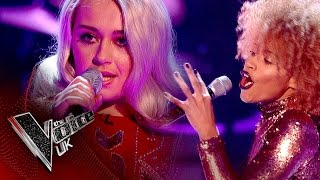 Hayley Eccles vs. Jazmin Sawyers - 'Hold My Hand': The Battles | The Voice UK 2017