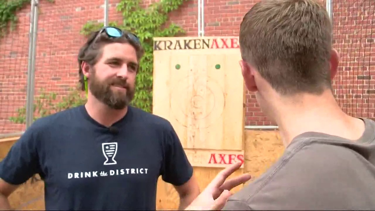 axe throwing bars coming to d c area youtube
