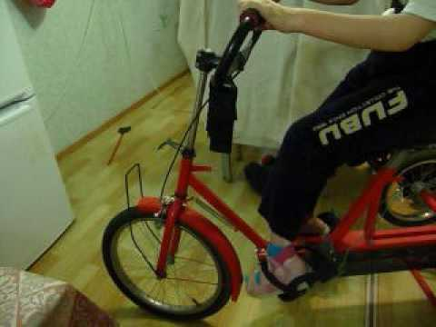 Ходунки АРДОС (тренажер, вертикализатор) - YouTube