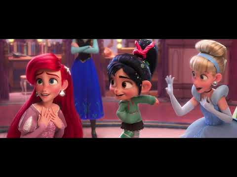 Ванилопа знакомится с принцессами \