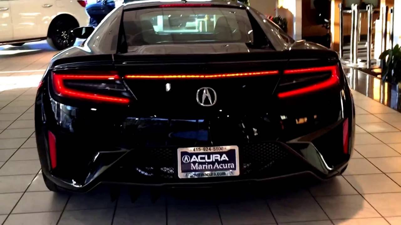 The All New 2017 Acura Nsx Interior And Exterior Walk Around