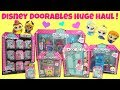 Disney Doorables Huge Haul Unboxing! Blind Bags Box, Frozen's Ice Castle, Belle's Book shop and More