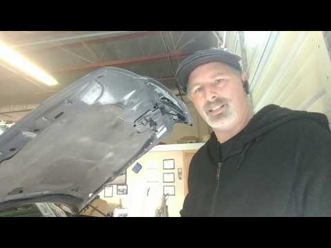 Belt Tensioner Replacement On A Lincoln Town Car