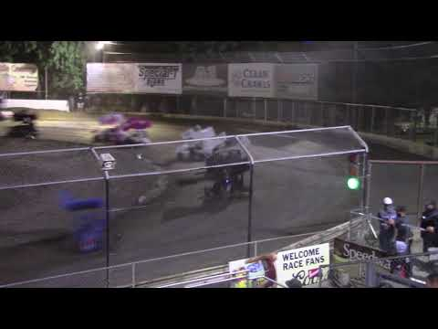 Mt. Baker Academics & Athletics night #2 Jordi started 10th. and got 10th. - dirt track racing video image