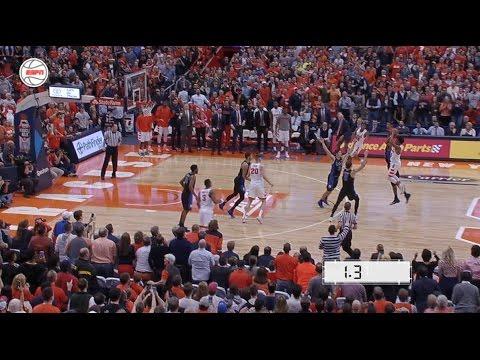 John Gillon Buzzer-Beater | Syracuse vs. Duke