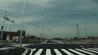 【車載動画】都市と田舎を結ぶ国道122号(3)【バイパス】