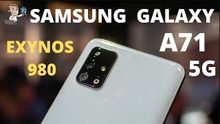 Samsung Galaxy A71 5g Leaks 5g Smartphone Samsung Leaks Exynos 980 2020 Phonly Youtube