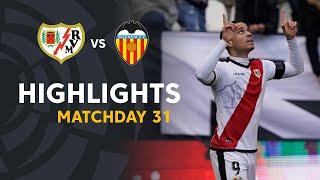 Highlights Rayo Vallecano vs Valencia CF (2-0)